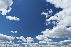 The blue sky (kdblog) Tags: blue wallpaper sky cloud sunlight white nature weather horizontal airplane outdoors freedom heaven day space air low nobody panoramic silence harmony backgrounds oversized airspace vacations cloudscape wispy scenics clearsky stratus meteorology cirrus purity troposphere tranquilscene ecstatic beautyinnature skyonly cumuluscloud aerospaceindustry