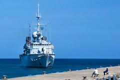 The Ventse (ModernDayGilligan) Tags: french grenada caribbean visiting frigate warship navyship frenchnavy ventose
