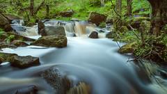 Padley Gorge (Rob'81) Tags: uk water landscape waterfall long exposure district derbyshire peak gorge padley