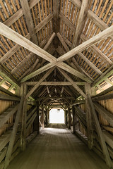 Suworowbrücke (qitsuk) Tags: bridge alps schweiz switzerland coveredbridge schwyz muotathal woodenbrigde muota suworowbrücke