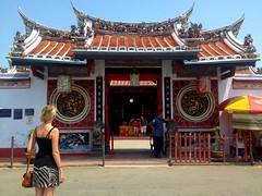 Le temple chinois le plus ancien de Malaisie :  : Cheng Hoon Teng