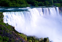 Niagra Falls (HaleyWilke) Tags: blue nature water beautiful outdoors waterfall big amazing niagrafalls powerful