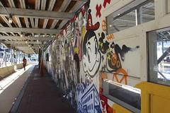 Graffiti (Read2me) Tags: pregamesweepwinner graffiti art sidewalk vanishingpoint construction cye she tcfunanimous thechallengefactory duele gamewinner city