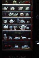 DSCF7942 (Mike Pechyonkin) Tags: street cup window night teapot bucharest 2014       specialiti