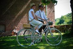RideRétroArdennesSundayBalladAndPicNic (rohand) Tags: canon vintage bicyclette ballade vélo charlevillemézières d80 meuze rohand vélovintage riderétro riderétroardennes2014