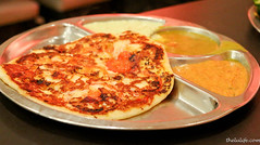 Tomato uthappam (luyaozers) Tags: tomato dhal chickpea bhatura uthappam