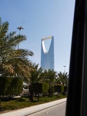 Riyadh from the mini-bus (Mink) Tags: tower kingdom saudi arabia riyadh