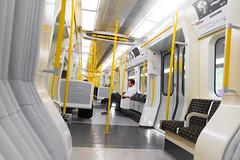 Metropolitan Line (Timothy Slessor) Tags: city uk urban london underground fuji britain tube fujifilm xe1 fujixe1
