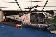 Gilze Rijen EHGR 2014 :  SA.316B Alouette III  A-366 (Hermen Goud Photography) Tags: canon panasonic preserved wfu 2014 gilzerijen opendagen eos50d alouetteiii a366 sa316b