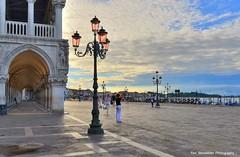 venice at sunrise (Rex Montalban Photography) Tags: venice italy sunrise europe italia venezia stmarkssquare rexmontalbanphotography