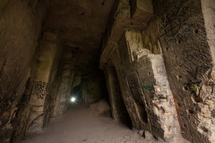 flash (frank-heinen-photographer) Tags: landscape darkness adventure flashlight cave exploration hhle marl marlpit wwwfrankheinenphotographerde mergelgrotte