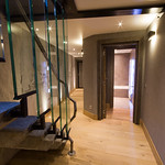 Staircase at The Ark - More Mountain Luxury Chalet in Morzine