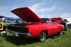 1968  Dodge Charger R/T (osubuckialum) Tags: show columbus ohio classic cars car muscle views oh mopar nationals 1000 carshow musclecar 2014 moparnationals moparmuscle nationaltrailraceway moparpower