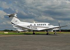 G-PCOP Beechcraft 200 Super King Air (SteveDHall) Tags: 200 beechcraft beech b200 fairoaks be20 superkingair be200 beech200 beechcraft200 gpcop