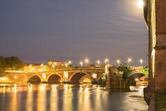 "Le ""pont Neuf"" at night (picsmarc) Tags: france night lights fuji xe2 fujifilmx"