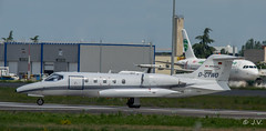 Learjet 35 Air Alliance D-CTWO (Mav'31) Tags: private airport aircraft airplanes jet sigma toulouse airlines 35 blagnac spotting tls learjet aéroport 120400 lfbo d5100
