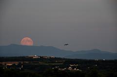 My Supermoon (betsyfinstad) Tags: moon photoshop vermont fullmoon 2014 supermoon