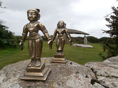 Krishna and Radha visit Pentre Ifan Burial Chamber. (TREASURES OF WISDOM) Tags: whatisthis love mystery wow wonderful religious nice fantastic worship shrine view spirit yes magic visit exhibition sacred offering unknown ritual unusual vibes spirituality wisdom spiritual krishna krsna hindu artifact healing hinduism item brilliant puja deity shamanic mystic votive wealth artefact unseen namaste mythical murti tribalart southindian ethnographic intresting krishnaradha godofwisdom indianbronzes