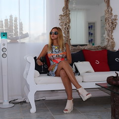 Gotta love Kivotos (LovebyN) Tags: travel beach sunglasses fashion island outfit shoes dress yacht designer style traveller greece wedge mykonos fw stylist lookbook boutiquehotel fashionblog personalstyle wiwt ootd kivotos travelblogger fashionblogger clovercanyon lovebyn