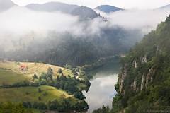 Spajici Lake (Irene Becker) Tags: fog serbia balkan srbija taramountain zaovine bajinabata westserbia zlatibordistrict irenebecker nacionalniparktara imagesofserbia irenebeckereu