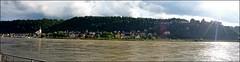 Rhein-Panorama (tor-falke) Tags: castle germany wasser europa europe rheintal rhein stgoar burg flus burgrheinfels torfalke flickrtorfalke