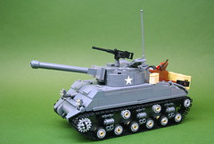 "M4A3E8 ""Easy Eight"" 76mm Sherman tank - V1 (1) • <a style=""font-size:0.8em;"" href=""https://www.flickr.com/photos/12426416@N00/14782025983/"" target=""_blank"">View on Flickr</a>"