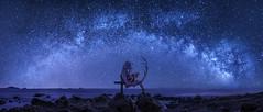 Angel Gate (CinemaScope Version) (Ateens Chen) Tags: longexposure people panorama landscape hongkong nikon multipleexposure southchinasea hiroshi ateens nightportrait milkyway ひろし tiltshiftphotography starrysky パノラマ写真 goodsmilecompany hyperfocaldistance d700 ロザリオとバンパイア rosariovampire pcenikkor24mmf35ded akashiyamoka 赤夜萌香 グッドスマイルカンパニー 18scalefigure