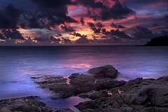 A Sunset to Remmember || Thailand (edwinemmerick) Tags: ocean longexposure sunset sea cloud seascape reflection water weather canon thailand coast dos le 7d slowshutter coastline phuket edwin emmerick edwinemmerick