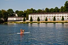 Dog transport (PG63) Tags: dog stockholm paddle palace paddling karlbergskanalen karlberg slott