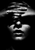 Substance (Christine Lebrasseur) Tags: portrait people blackandwhite woman france art night canon hand hidden teenager fr onblack landes léane peyrehorade allrightsreservedchristinelebrasseur