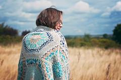 Sally and Mark's Persian Blanket (HelenKnitsUK) Tags: knitting blanket handknitting colourwork