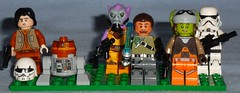 Lego - Rebels Figures (Darth Ray) Tags: from star chopper lego ghost stormtrooper ezra wars phantom figures rebels bridger hera the kanan zeth 75048 75053 c110p orrelios syndulla jarrus