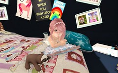 Brownies Camp 2014 (rainingpinkdiamonds) Tags: summer blog turducken olive courtyard secondlife trinity blogging noodles simmons brownies noli summercamp trinket 2014 littlecloset badgerwood awwdorable browniescamp noliah tinypinkdiamonds