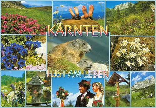Koruška 0675 R Kärnten Natur pur Lust am Leben Austria a