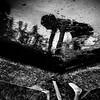 Underworld (Christine Lebrasseur) Tags: portrait people blackandwhite woman france reflection art texture 6x6 water canon body dordogne teenager fr 500x500 léane molières allrightsreservedchristinelebrasseur