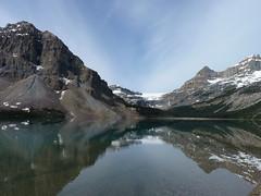 Bow Lake and Waputik Range, Banff National Park, Alberta, Canada (Loeffle) Tags: canada nationalpark alberta kanada banffnationalpark bowlake canadianrockies waputikrange 062014