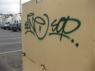Sane Cheltenham Graffiti