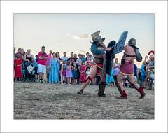 Gladiadores (miguelangelortega) Tags: fight fuji fiesta circo verano valeria fighting pelea lucha romans cuenca romanos recreacinhistrica ltytr1 x100s valeriacondita
