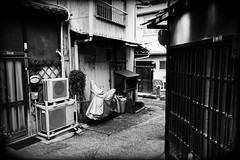 (kawa.uso) Tags: bw japan sony august hiroshima sw onomichi 2014 α6000