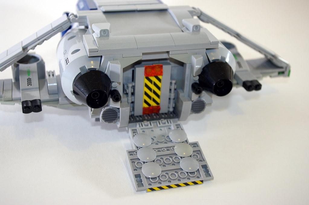 lego space shuttle custom - photo #14