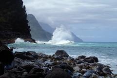 Haena-State-Park_Kauai-HI_03-02-2007zz (Count_Strad) Tags: park beach island hawaii surf waves scenic wave kauai haena haenastatepark