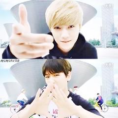 Luhan & Baekhyun (M1M1NEXO) Tags: do tags kai capture tao cf chen lay exo suho xiumin luhan exom baekhyun exol exok sehun chanyeol