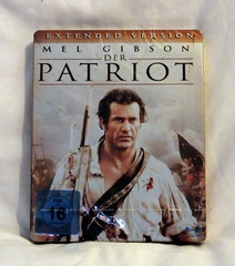 The Patriot Blu-ray steelbook (Moldovia) Tags: new greatbritain family england horse gabriel film movie fight war gun 2000 peace action thomas ships father birth colonial nation explosion melgibson southcarolina peaceful son battle haunted revenge tragedy swamp plantation hero sword axe murder rebellion duel leader pointandshoot british farmer militia americanrevolution drama powerful tactics officer pointshoot infamous 1776 permission colony protect brutal sons adambaldwin sadistic mus