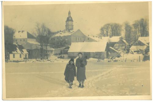 Szydłowiec, zima 1958r.