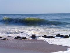 waves like glass (camera girl 108) Tags: ocean morning summer beach early sunny august atlantic shore delaware rehobothbeach