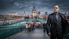 Millenium Bridge London (LeePellingPhotography.co.uk) Tags: uk bridge england london st millenium pauls foster partner nostrobistinfo removedfromstrobistpool seerule2