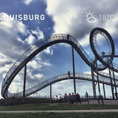 Grüße aus Duisburg. | Tiger & Turtle  #kiraton #instaweather  #weather #wx  #duisburg #deutschland #day #autumn #de #holiday #hooray #hoorayfortoday #kiratontravel #travel #travelblog #travelingram #traveltheworld #worlderlust #wolkig #wolken #clouds #tig