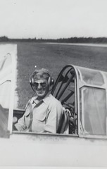 Stan Abele Collection Image (San Diego Air & Space Museum Archives) Tags: cockpit base aviator snj ussbunkerhill naa northamericansnj northamericanavaition stanabele trainerstatesidetraining