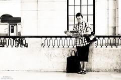 news flash ( #Portugal #Lisbon #TrainStation ) (Nelson Loureno) Tags: street camera longexposure people cloud window souls train canon lens landscape photography interesting flickr moments fotografie sweet lisboa lisbon flag creative frias nelson scene snap best explore most trainstation moment solitary decisive estao bilding 2014 lourenco colunas combio 600d imponent