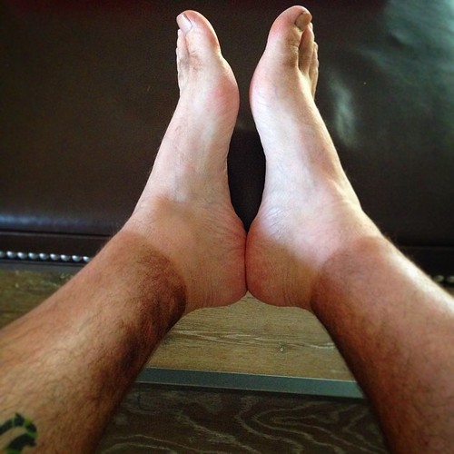 Sexy gay feet